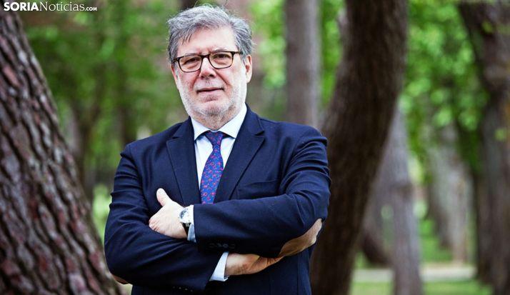 El soriano Santiago Aparicio, presidente de CECALE. /SN