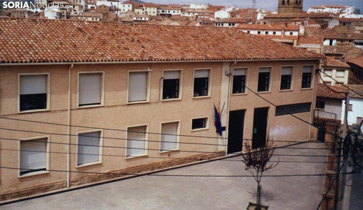 Una imagen del colegio agreño. /SN