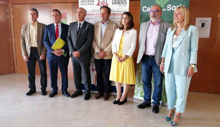 José Antonio Lucas, Anselmo García, Francisco Esteban, Jaime Fernández, Cristina Freijanes, Miguel Latorre y Blanca García. /SN