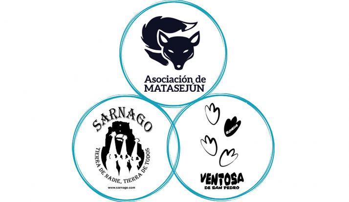El logotipo con el que las tres agrupaciones estarán en la feria.