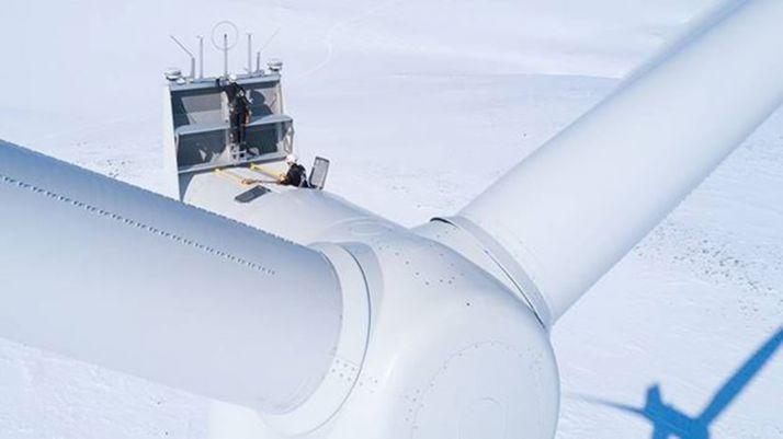 Una imagen de una turbina de la compañía. /SG