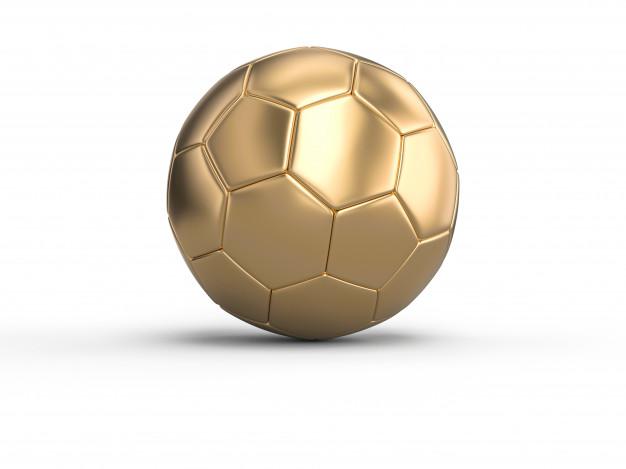 Balón de oro de balonmano.