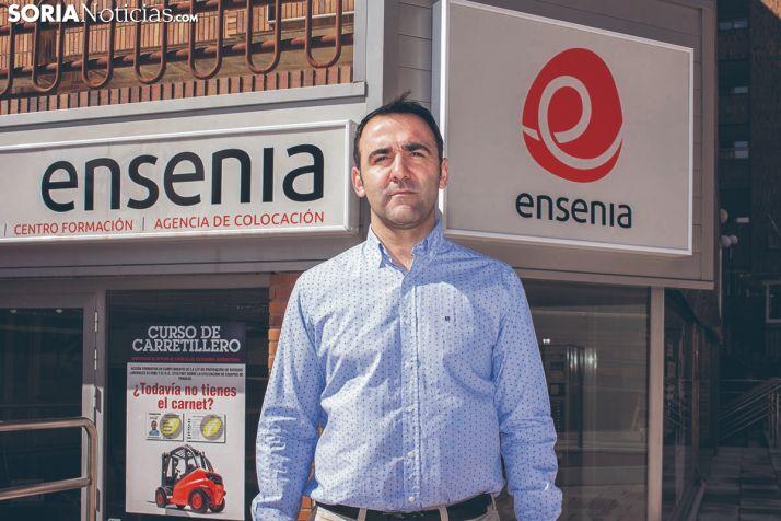 Nacho Benito, director de Ensenia