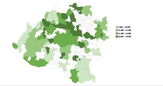 ¿Cuánto cobra tu vecino? Estos son los pueblos (y barrios) más ricos y pobres de la provincia de Soria
