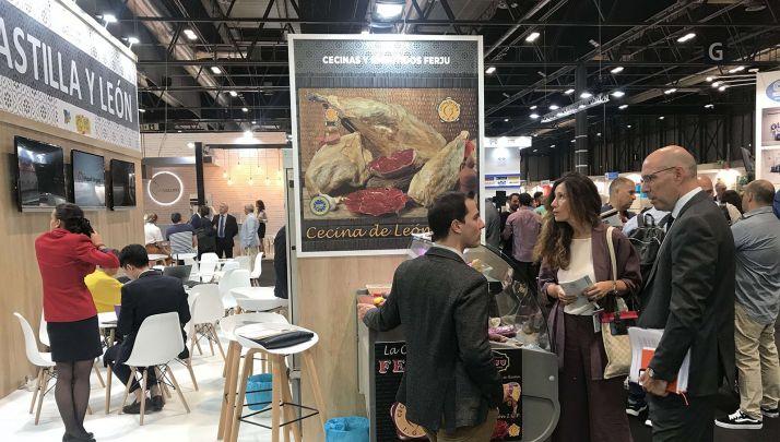 Una imagen del stand de la Comunidad en la Feria Meat Attraction. /Jta.