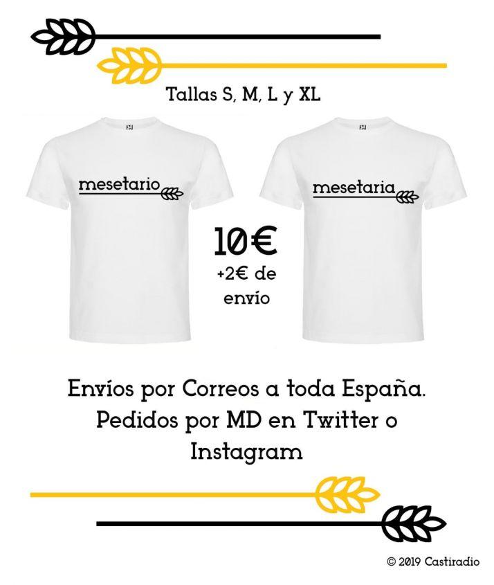 Foto 2 - ¿Mesetario un insulto? El orgullo de la España interior ya tiene su camiseta