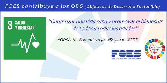 Foto 1 - FOES contribuye a la campaña #ODSéate del Gobierno divulgando los Objetivos de Desarrollo Sostenible