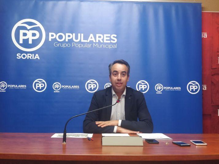 Nacho Soria en rueda de prensa.