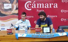 Dani Martín ha sido presentado esta mañana como nuevo jugador del Río Duero.