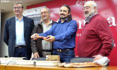 Samuel Moreno (izda.), Amador Frías, Darío Lara y Gonzalo Alonso. /SN