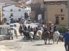 Una imagen de la jornada en Borobia.