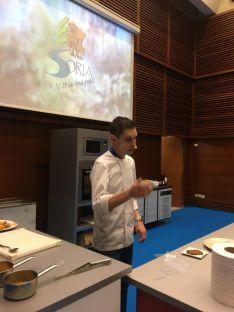 Una de las imágenes sorianas que deja Gastronomika 2019.