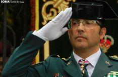 Andrés Velarde, teniente coronel jefe de la Comandancia de Soria, este sábado. /SN