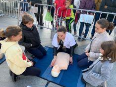 Foto 4 - La reanimación cardiopulmonar protagoniza la tarde en Granados