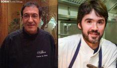 De Pablo y García, cocineros sorianos de conocido renombre. /SN
