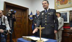 Honorio Pérez, en la toma de posesión este miércoles. /SN