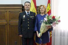 El comisario con su esposa. /SdG