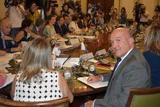 El consejero de Agricultura, Ganadería y Desarrollo Rural, Jesús Julio Carnero.