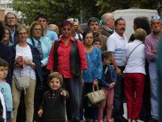 Una imagen de la plaza Mariano Granados este sábado, festividad de la Virgen del Pilar. /SN