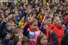 Foto 5 - FOTOS Y VÍDEO: 500 niños sorianos bailan para mandar toda su energía a Iván