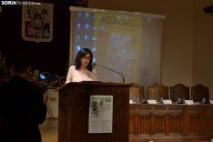 Una imagen de la conmemoración y de los homenajes. /SN