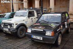 VII Spain Classic Raid, ante el Ayuntamiento de Soria. /SN