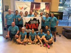Sorianos en la Media Maratón de Valencia.