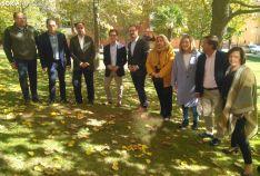 Foto de familia del PP con Javier Maroto.