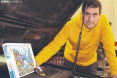 El soriano Ángel Heras, campeón mundial de puzles. SN