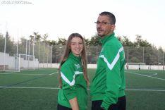 Sergio Paz y Jessi Nieyo, míster e interior derecho, respectivamente, de este San José femenino 2019-20. SN