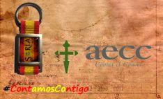 NNGG vende llaveros para la Asociación Contra el Cáncer