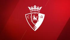 El emblema del club navarro.