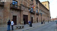 El Palacio de los Condes de Gómara, sede de la Audiencia Provincial. /SN