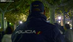 Un agente del CNP en la capital. /SN