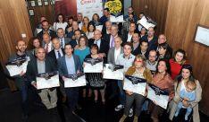 Galardonados en esta edición de los Premios Artesanos.