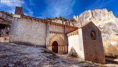 Ermita de San Bartolomé, en el Cañón del Río Lobos. /SN
