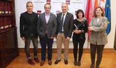 De izquierda a derecha: Luis Carlos Martínez, Ignacio Molina, Antonio Largo, Helena Castán y María Ángeles Sobaler.