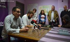 San Juan y García, esta tarde en rueda informativa. /SN