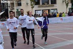 Foto 4 - El CAEP lleva el atletismo al centro de Soria