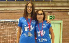 Carmen Carro y Diana García el pasado domingo en el TTR Madrid.