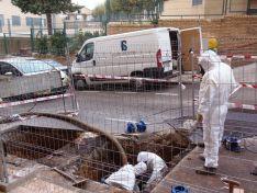 Imágenes de los trabajos de Agua de Soria.