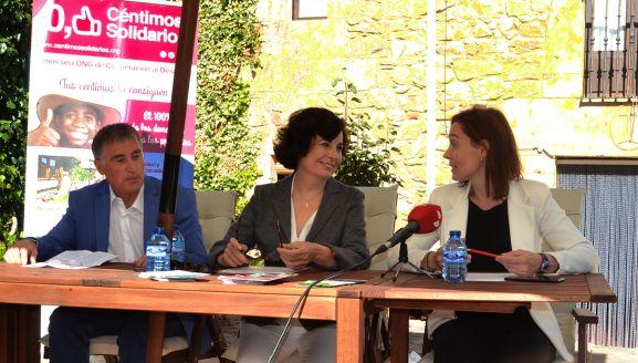 Juan Luis Antón, Raquel Alvero y Natalia Briongos. /SN