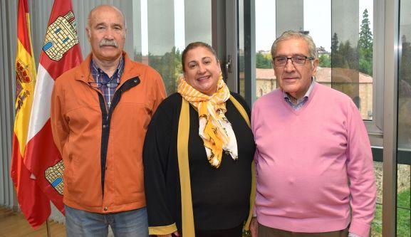 José Miguel Serrato, Yolanda de Gregorio y Fernando Ligero. /Jta.