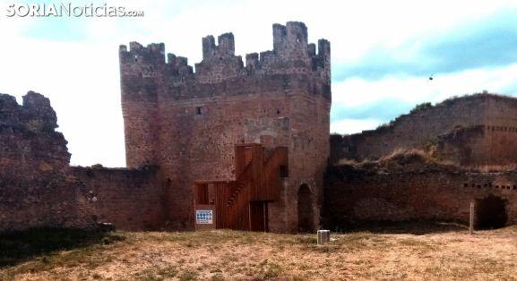 La torre del homenaje del castillo berlangués. /SN