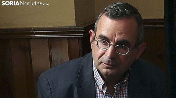 Jesús de Lózar, concejal y portavoz de Cs en el Ayuntamiento de Soria. /SN