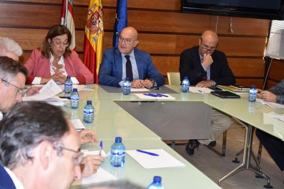 Reunión para abordar las actuaciones sobre el topillo campesino. Junta de Castilla y León