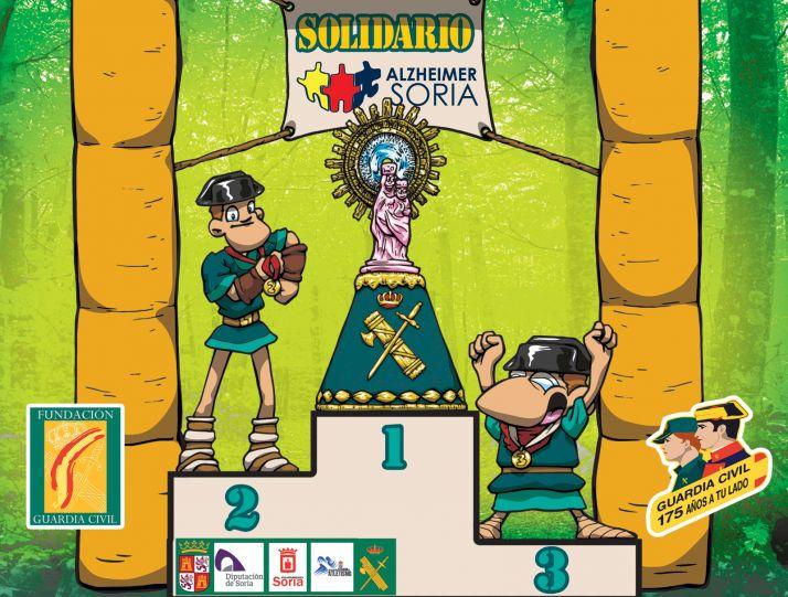 Foto 1 - La Guardia Civil celebra su Carrera Verde a favor de Alzheimer Soria
