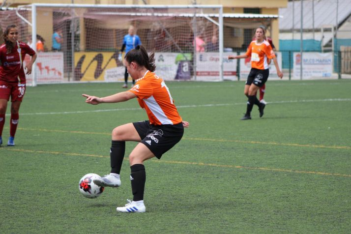 Marta Charle, defendiendo la camiseta del Parquesol. Martina Merino