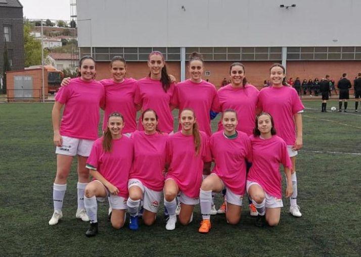 De rosa, 11 que presentó el CD San José femenino en Los Cerros ante el San Pío X. CD San José