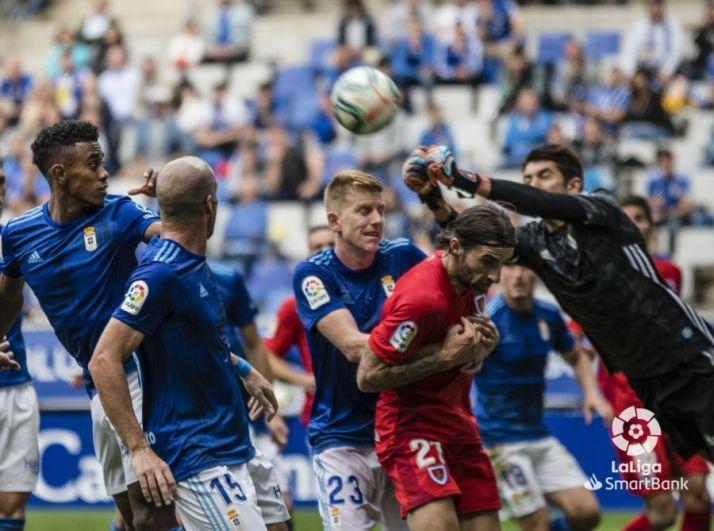 Real Oviedo-Numancia, en el Carlos Tartiere. LaLiga